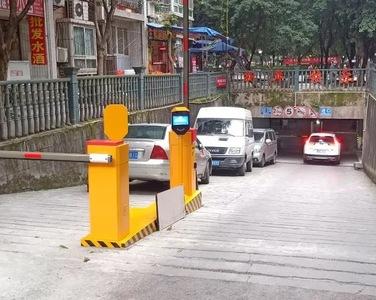 重庆东湖雅苑小区智慧无人值守停车系统