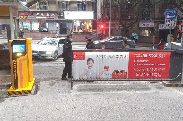 重庆小区车牌识别系统
