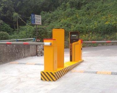 重庆渝新花园小区车牌识别系统