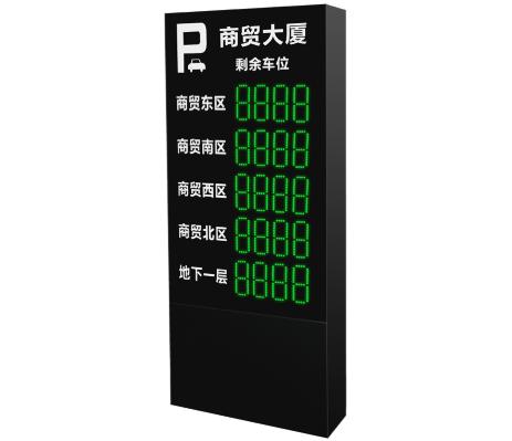 智能停车场管理系统:户外车位引导屏TED-6515